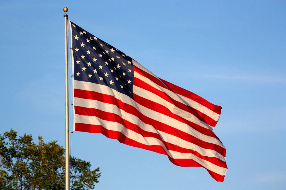 American Flag, Waving Flag, ...