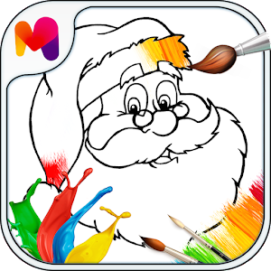 Kindergarten Coloring Pages Icon