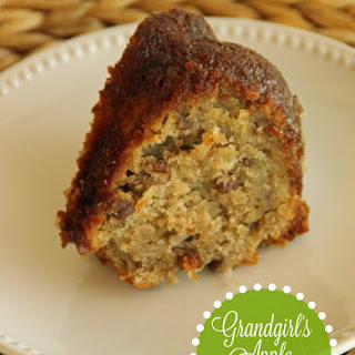 Grandgirl's Apple Cake