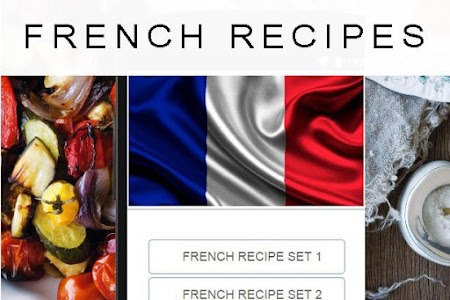 French recipes screenshot 0