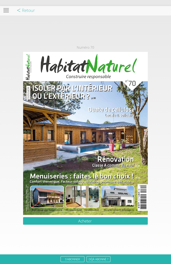 Habitat Naturel- screenshot