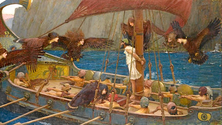 'Ulysses and the Sirens', painted by John William Waterhouse in 1891, illustrates how Greek hero Odysseus (Ulysses to the Romans) outwitted the sirens trying to lure his ship on to the rocks in Homer's epic poem 'The Odyssey'. Investment experts suggest investors should similarly ignore siren calls to quit the market when share prices are falling.