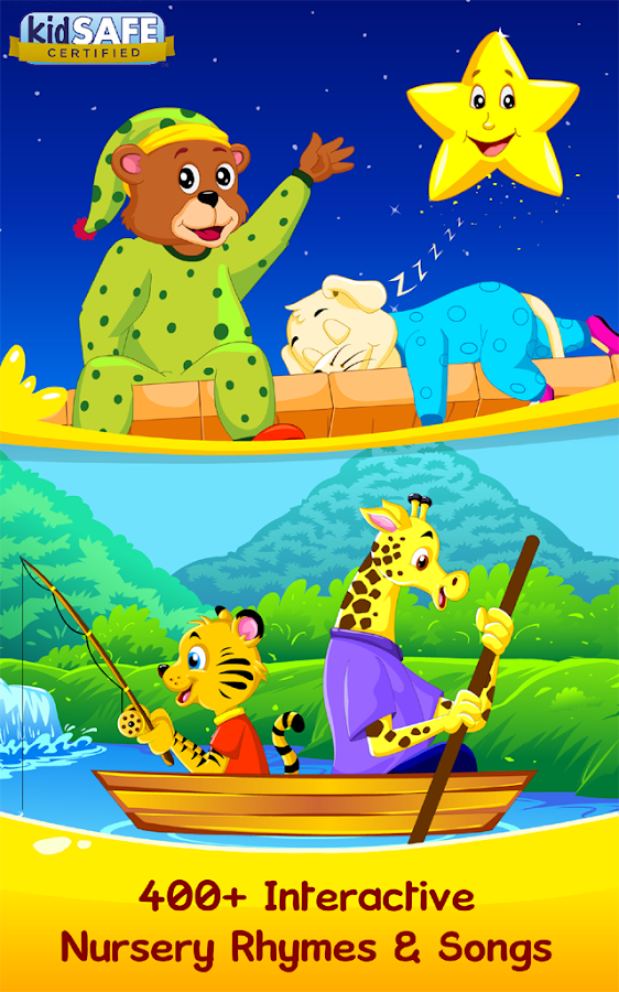 Nursery Rhymes, Kids Games, ABC Phonics, Preschool- screenshot