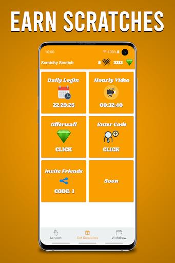 Scratchy Scratch - Earn Money screenshots 2