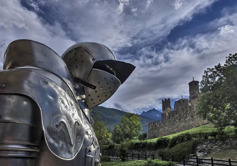 A guardia del castello di Livius