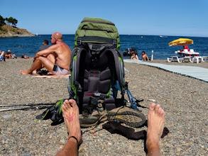 Photo: Banyuls, turista tra i turisti... sicuro che di me non se ne accorge nessuno!