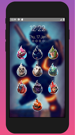 Download Battle Royal Lock Screen - FBR Wallpapers For PC 1