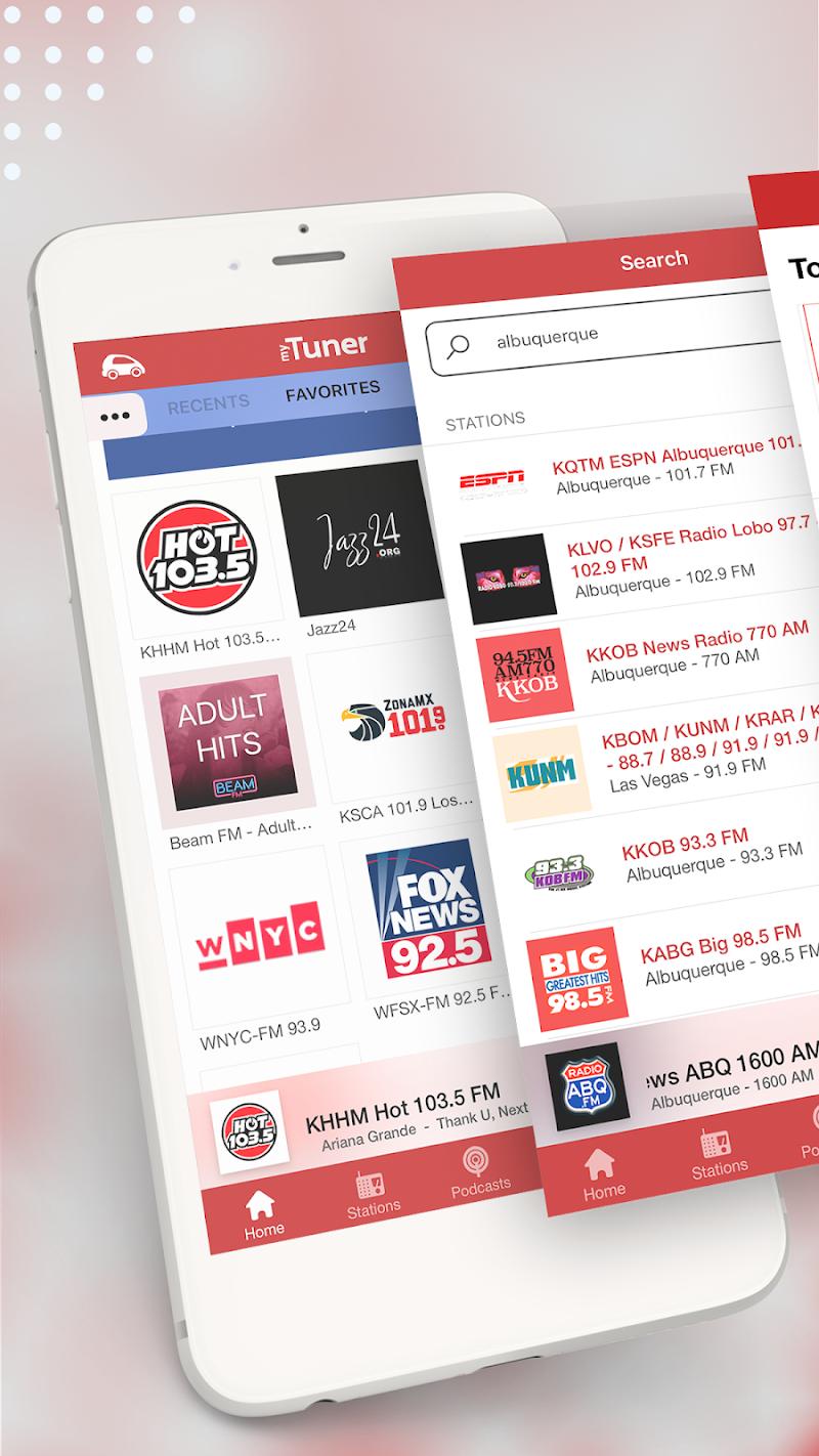 myTuner Radio App: FM Radio + Internet Radio Tuner Screenshot 3
