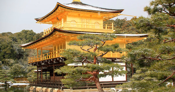 92. Rokuon-zenji(Kinkaku-ji) (100 Japanese Garden in Kyoto I recommend)