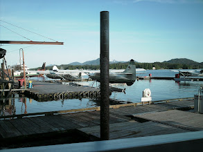Photo: Ketchikan sea plane dock.