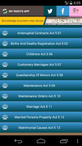 Zimbabwe Laws App  screenshots 4