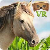 VR Horse Ride - Google Cardboard Game For Kids