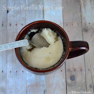 vanilla Mug Cake.