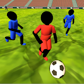Stickman Football (Soccer) 3D