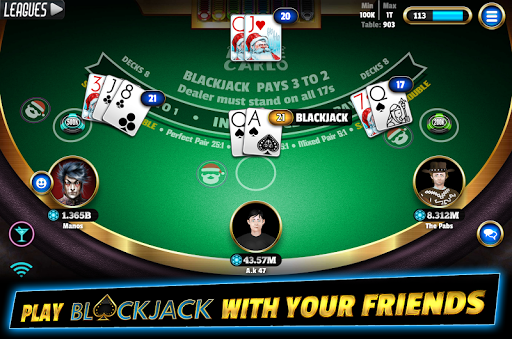 BlackJack 21 - Online Blackjack multiplayer casino 7.9.5 Mod screenshots 2