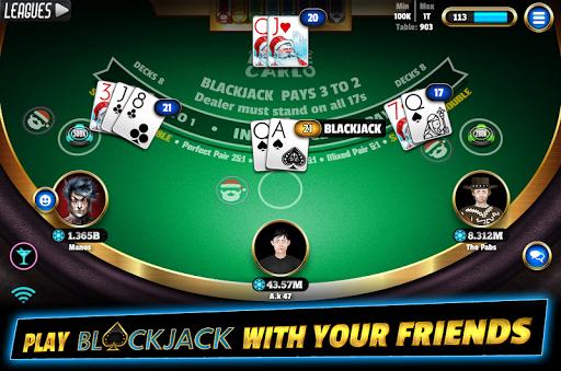 BlackJack 21 - Online Blackjack multiplayer casino Apk 2