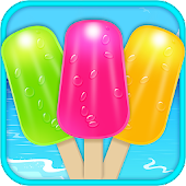 Ice Candy Maker - Ice Popsicle Maker Cooking Game