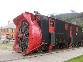 Photo: Rotary snowplow from White Pass & Yukon RR