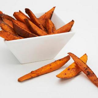 Fat-Free Sweet Potato Fries.
