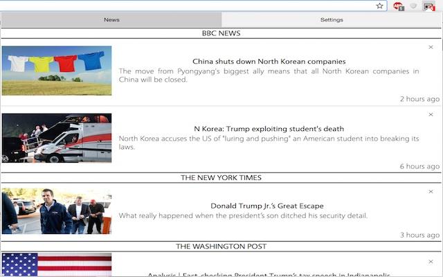 News Tracker