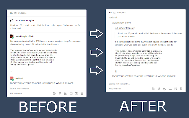 Tumblr Posts Fix