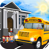 School Coach Bus Simulator 3D