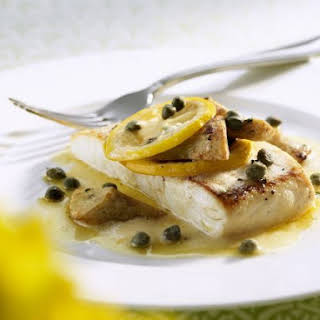 White Fish with Citrus and Capers.