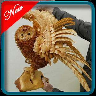 wooden art amazing - náhled