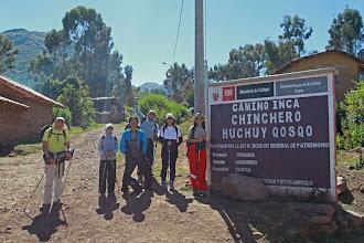 Photo: Empezando el camino en Tauca Huchuyqosqo (27 y 28 - Abril - 2013) Cusco