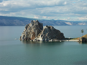 Photo: Burkhan Rock - the sacred place of the island