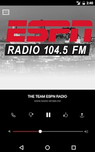 104.5 The Team ESPN - Albany's Sports Talk (WTMM)- screenshot thumbnail
