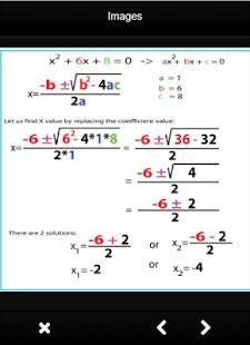 Mathematics Formula Algebra - náhled