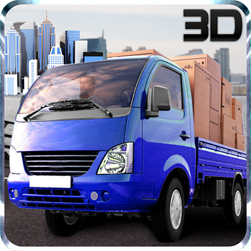 Mini Driver Truck Transport 3D