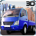 Mini Driver Truck Transport 3D icon