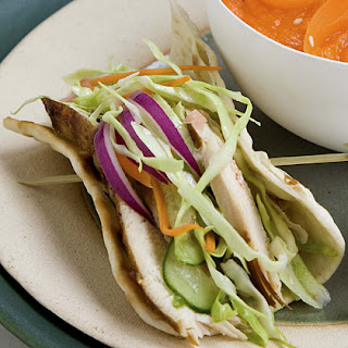 Chicken Lavash Wraps.