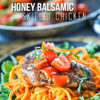 Honey Balsamic Chicken.
