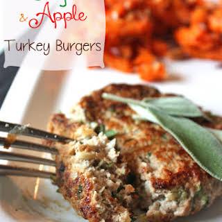 Sage and Apple Turkey Burgers.