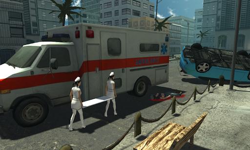 救護車援救911