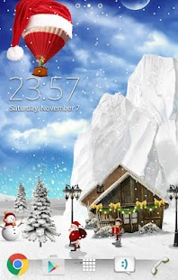 2017 Christmas Live Wallpaper - náhled