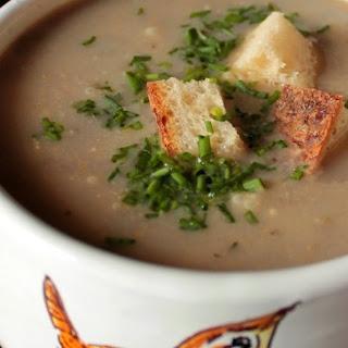 Flu Season Mushroom Soup.