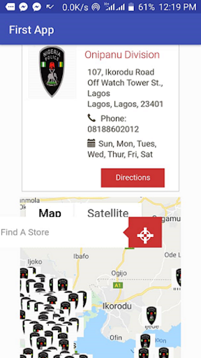 Screenshot for ALARM BUTTON NIGERIA in United States Play Store