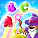 Wizard Letter Fall- ABC Learning Game icon