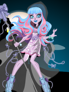 Ghouls Monsters Fashion Dress Up Game - náhled