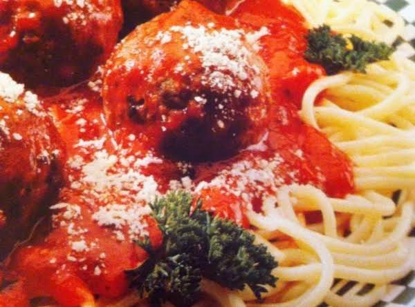 Spaghetti & Meatballs For Two
