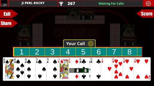 玩免費紙牌APP|下載Call Break - Multiplayer app不用錢|硬是要APP