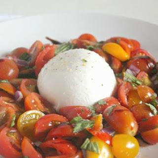 Tomato Caprese with Burrata