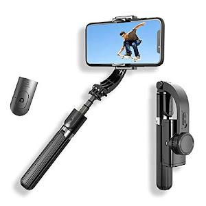 Stabilizator pentru telefoane, Gimbal L08 Bluetooth