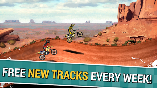 Mad Skills Motocross 2 Mod  APK (Rockets/Unlocked) for Android 5