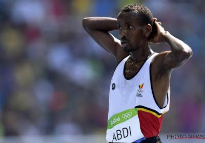 Bashir Abdi is uitgeschakeld in de reeksen van de 5.000 meter