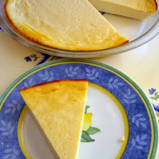 Vegan Lemon Cheesecake.